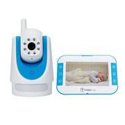美芯 Marathon 500婴儿监护器儿童监护仪宝宝哭声监听画面监护震动可旋转摄像头5英寸大屏