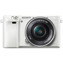 索尼 ILCE-6000L APS-C微单单镜套机 白色(16-50mm镜头 F3.5-5.6 a6000L/α6000)产品图片主图