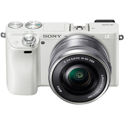 索尼 ILCE-6000L APS-C微单单镜套机 白色(16-50mm镜头 F3.5-5.6 a6000L/α6000)产品图片3