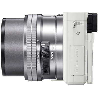 索尼 ILCE-6000L APS-C微单单镜套机 白色(16-50mm镜头 F3.5-5.6 a6000L/α6000)产品图片4
