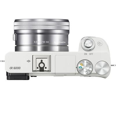 索尼 ILCE-6000L APS-C微单单镜套机 白色(16-50mm镜头 F3.5-5.6 a6000L/α6000)产品图片5