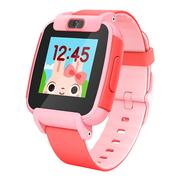 糖猫 搜狗儿童电话手表视频版T3 彩屏摄像儿童智能手表 防水GPS定位学生手表手机 红色
