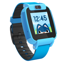 糖猫 搜狗儿童电话手表视频版T3 彩屏摄像儿童智能手表 防水GPS定位学生手表手机 蓝色产品图片主图