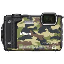 尼康 COOLPIX W300s 防水 防震 防寒 防尘 数码相机 (迷彩色)产品图片主图