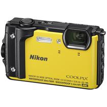 尼康 COOLPIX W300s 防水 防震 防寒 防尘 数码相机 (黄色)产品图片主图