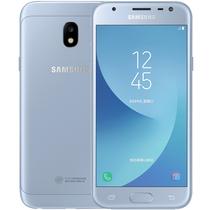 三星 Galaxy J3(J3300)3GB+32GB版 凝霜蓝 移动联通电信4G手机 双卡双待产品图片主图