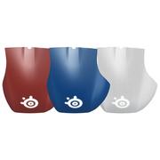 赛睿 Rival 700 鼠标背壳套装 红 白 蓝 彩色背壳