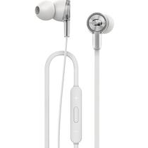 华为 荣耀魔声耳机线控入耳式手机耳机立体声原装耳塞AM15白色产品图片主图
