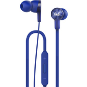 华为 荣耀魔声耳机线控入耳式手机耳机立体声原装耳塞AM15蓝色