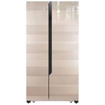 海信 588升 对开门冰箱 双变频风冷无霜 玻璃面板 WIFI控制 (天誉金)BCD-588WFB1DPUQ产品图片主图