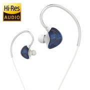 uiisii CM5 石墨烯 动圈 入耳式 HIFI 音乐耳机 发烧友级 女款 蓝色