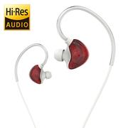 uiisii CM5 石墨烯 动圈 入耳式 HIFI 音乐耳机 发烧友级 女款 红色