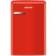 金松 106升 欧式复古 迷你 单门 一级能效 冷藏保鲜 小型彩色冰箱 BC-106R(米萨红)