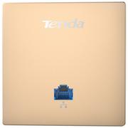 腾达 W6-S 300M无线86型入墙式面板AP 无线wifi接入点 POE供电\支持AC集中管理 (土豪金)