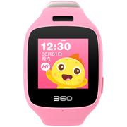 360 儿童手表6C智能拍照版电话手表 智能语音 防丢GPS定位 儿童电话 儿童手表6C W703 彩屏电话手表 樱花粉