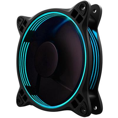 乔思伯 FR-301 RGB版本 RGB机箱风扇 (支持AURA RGB 1600万色/12CM/附带手动调7色编码器)产品图片1