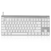 樱桃 MX Board 8.0 G80-3880HVAEU-0 单色背光机械键盘 白色银轴