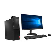 联想 启天M415-B022(G4400/4G/500G/集显/DVDRW/win7Pro64/19.5寸显示器) 黑色
