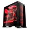 长城 魔镜V200RGB 电竞机箱(标配3把RGB风扇/一键调光/钢化玻璃/防尘网/长显卡/ATX主板)产品图片3