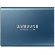 三星 移动固态硬盘 SSD T5 250GB 珊瑚蓝