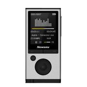 纽曼 A68 运动mp3mp4无损音乐播放器外放有屏迷你学生随身听录音笔 8G 银色