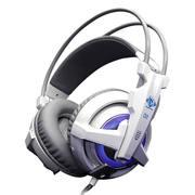 宜博 H950 震动游戏耳机 白色