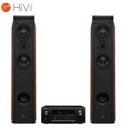 惠威 D3.2F音箱+天龙(DENON)AVR-X1300W功放 音响音箱 家庭影院套装 2.0声道家用KTV电视音响