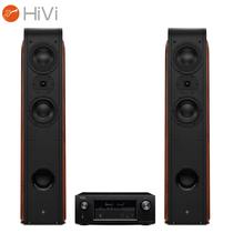 惠威 D3.2F音箱+天龙(DENON)AVR-X1300W功放 音响音箱 家庭影院套装 2.0声道家用KTV电视音响产品图片主图