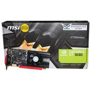 微星 GT 1030 2G LP OCV1 64BIT GDDR5 PCI-E 3.0显卡