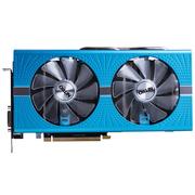 蓝宝石  RX580 8G D5 超白金 极光特别版 1430MHz/8400MHz 8GB/256bit GDDR5 DX12 独立游戏显卡