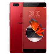 努比亚 Z17 无边框 烈焰红 6GB+128GB 全网通 移动联通电信4G手机 双卡双待