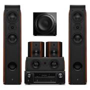惠威 D3.2HT+Sub10G 5.1+天龙(DENON)AVR-X518CI 音响 音箱 家庭影院组合套装家用KTV电视音响