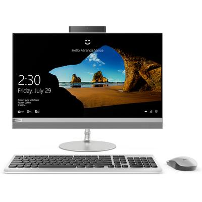 联想 AIO 520 致美一体机23.8英寸(i5-7400T 8G 1T+128SSD R530 2G显卡)银产品图片1