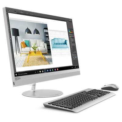 联想 AIO 520 致美一体机23.8英寸(i5-7400T 8G 1T+128SSD R530 2G显卡)银产品图片2