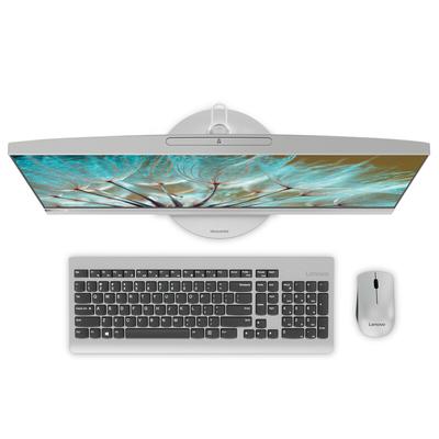 联想 AIO 520 致美一体机23.8英寸(i5-7400T 8G 1T+128SSD R530 2G显卡)银产品图片5