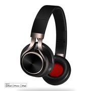 浦诺菲 PE-750 苹果头戴式耳机 lightning接口 苹果7可用 苹果认证 高保真线控耳麦 黑色