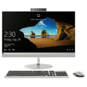 联想 AIO 520 致美一体机27英寸QHD屏(I5-7400T 8G 1T+128SSD GF940MX 2G 显卡)银