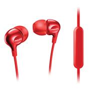 飞利浦 耳机 入耳式 内置麦克风 SHE3705(红)