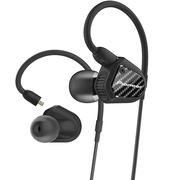 先锋 CLV20 HiFi双动圈线控耳机入耳式 手机耳麦 均衡版