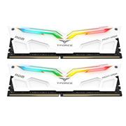 十铨 RGB灯条 DDR4 3200 16G(8G×2)套装 台式机 内存条 夜鹰白色