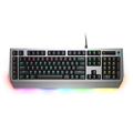 外星人 Pro版 AW768 机械/茶轴游戏键盘(AlienFX灯效 全键无冲 15个宏按键)黑银