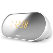 飞利浦 AJ2000 时钟收音机 双闹钟LED显示屏 白色