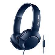 飞利浦 耳机  游戏耳机 耳麦 头戴式 SHL3075 (蓝)