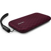 飞利浦 BT3900P 音乐手包 防水蓝牙音箱 便携迷你音响 手机/电脑小音响 户外运动/免提通话 紫色