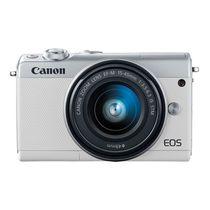 佳能 EOS M100(15-45 IS STM/55-200 IS STM双镜头) 银色产品图片主图