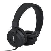 纽曼   T12头戴式线控手机耳机立体声重低音适用于苹果 安卓 电脑等 通用型 黑色