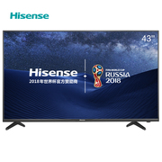 海信 LED43EC300D 43英寸 全高清蓝光平板液晶电视金属背板 (深黑)