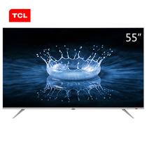 TCL 55A860U 55英寸32核人工智能 超智慧 超薄4K 超高清电视机(银色)产品图片主图