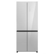 松下 NR-DE49CP1-S 498升 清雅银 十字对开门冰箱 风冷无霜 银离子抗菌除异味 自由变温室