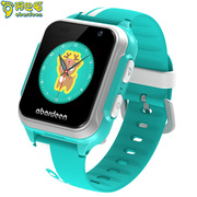 阿巴町 V116儿童智能手表 视频通话4G网络定位拍照彩色触屏男女孩手表 薄荷青
